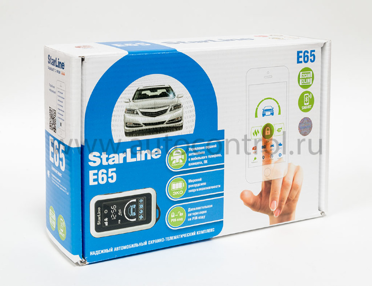 StarLine E65 2CAN/LIN BT